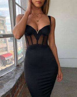 Vestido elegante noche