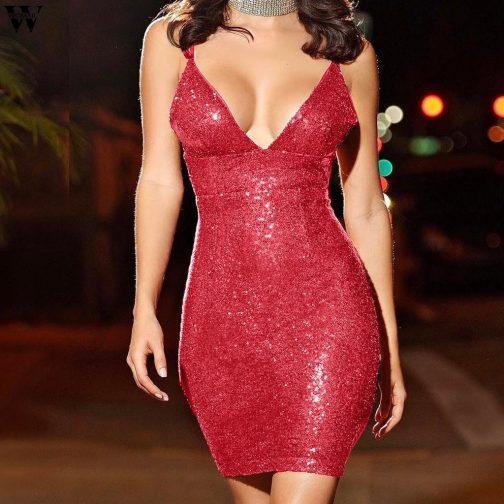 Vestido elegante de lentejuelas 1