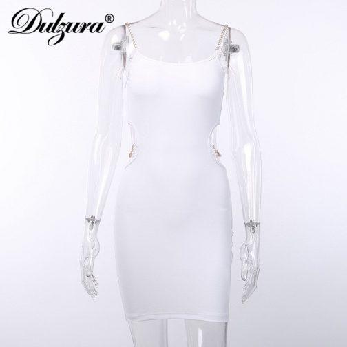 Vestido elegante de cadenas 5