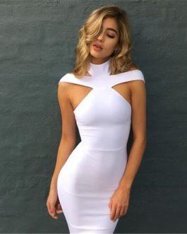 Vestido de cuello original