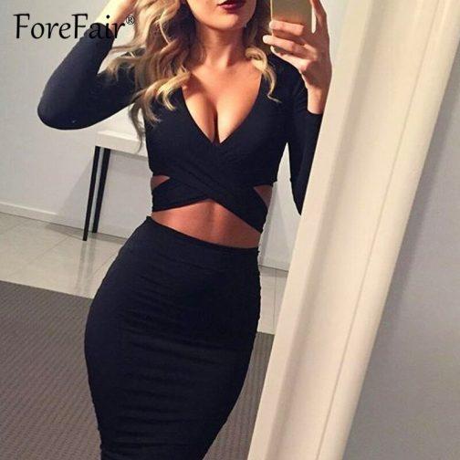 Vestido sexy casual