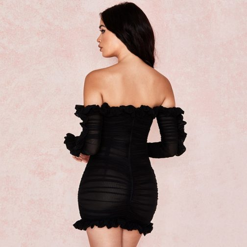Vestido elegante celebridad 3
