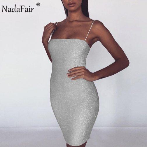 Sexy Mini vestido de fiesta brillante 2