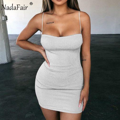 Sexy Mini vestido de fiesta brillante 3