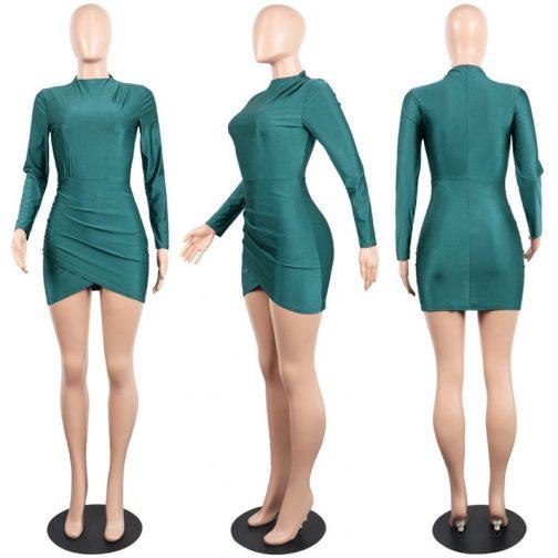 Vestido de manga larga  4