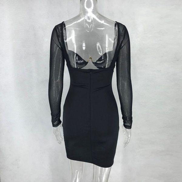 Vestido de satén 5