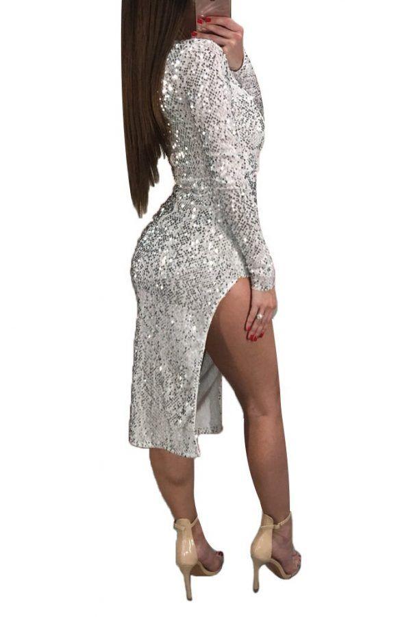 Vestido de fiesta de lentejuelas 5