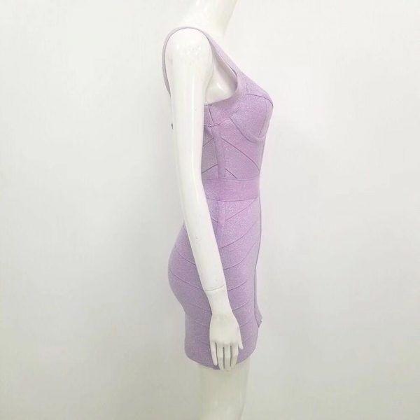 Vestido brillante de bandage 4