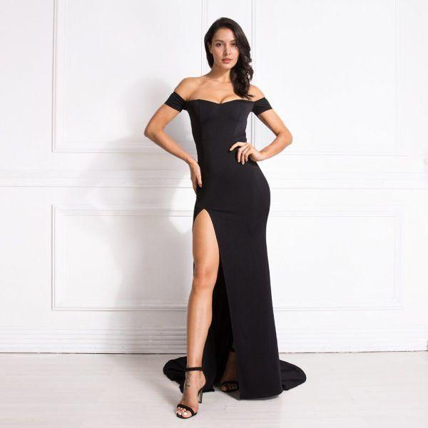 Vestido elegante clásico 3