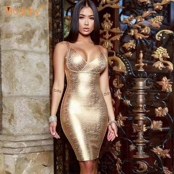 Vestido sexy de bandage 1