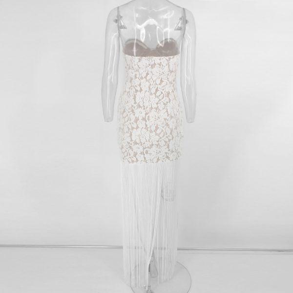 Vestido de flecos 6