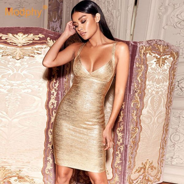 Vestido sexy de bandage 3