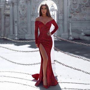 Sexy vestido sin mangas