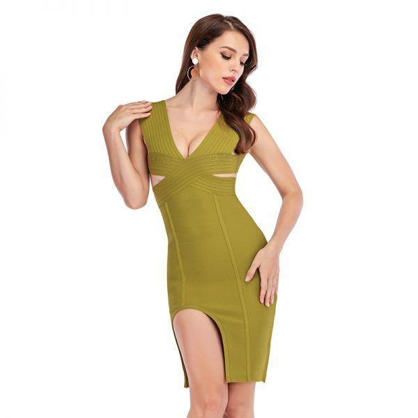 Sexy vestido de bandage 1