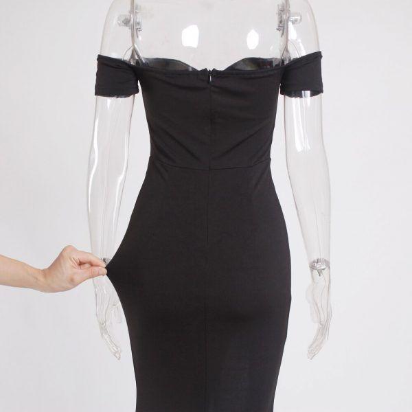 Vestido elegante clásico 6