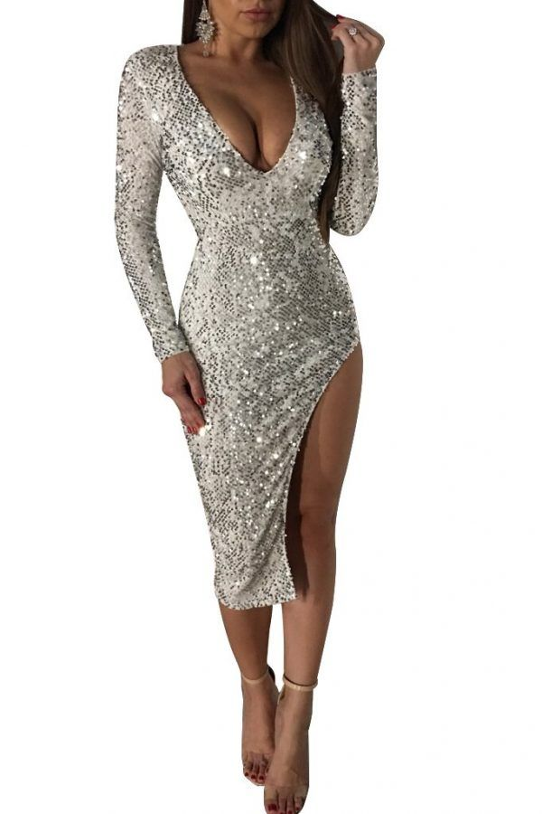 Vestido de fiesta de lentejuelas 3