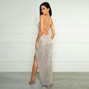 Vestido brillante sexy y elegante