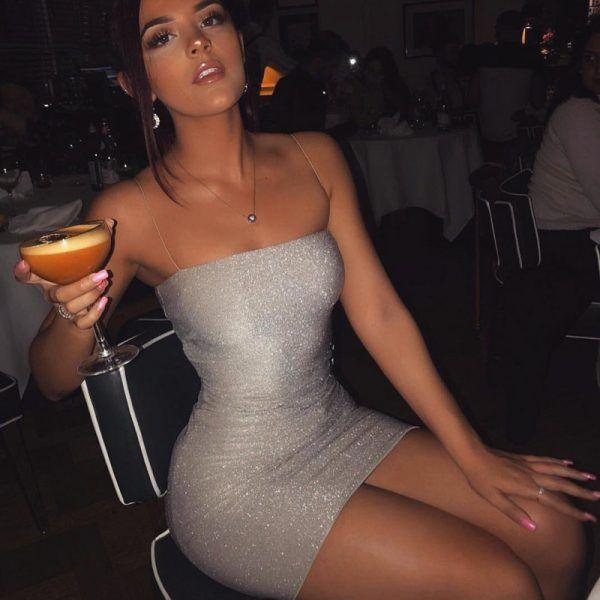 Vestido corto brillante 4