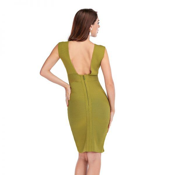 Sexy vestido de bandage 4