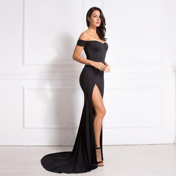 Vestido elegante clásico 4