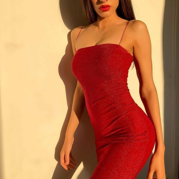 Vestido corto brillante 3